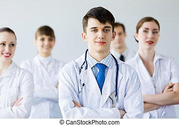 młody doktor