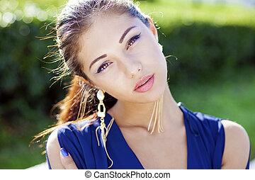 młody, piękna kobieta