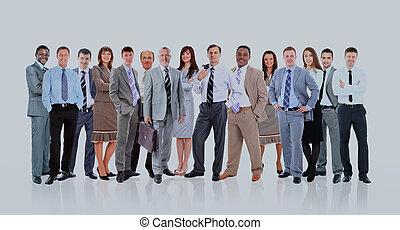 młody, pociągający, handlowy zaludniają, -, przedimek określony przed rzeczownikami, elita, handlowy, team.