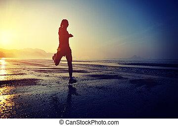 młody, zdrowy lifestyle, kobieta