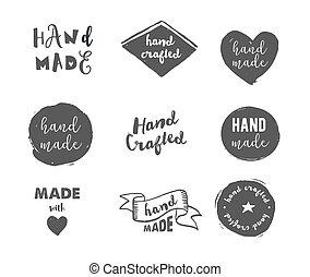 műhely, szeret, kézi munka, ikonok, elkészített, mesterkedik