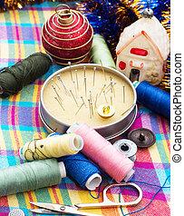 műszerek, öltözet, repairman