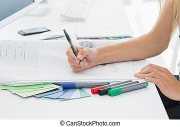 művész, rajz, valami, képben látható, dolgozat, noha, akol, -ban, hivatal