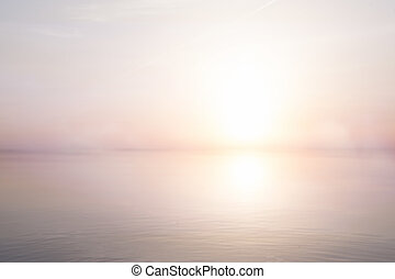 művészet, elvont, fény, tenger, nyár, háttér