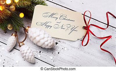 művészet, karácsony, ünnepek, sale;, fa, fény, background;