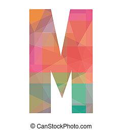 M alphabet