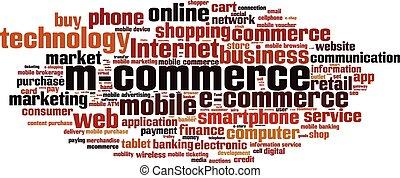 M-commerce-horizon [Converted].eps - Mobile commerce word...