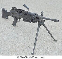M249 Squad Automatic Weapon - A USMC Squad Automatic Weapon...