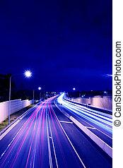 M3 Highway - M3 highway shot from Holland Park bridge