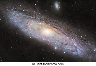 m31, der, andromeda galaxie