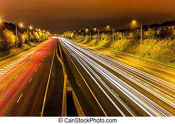 m50, motorway, dookoła, dublin
