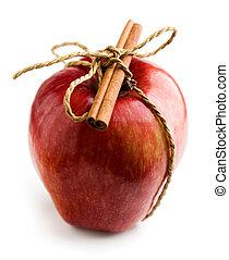 maçãs vermelhas