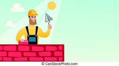 maçon, spatule, brick., fonctionnement