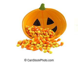 maíz de golosina, aislado