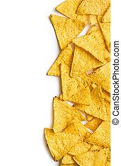 maíz, nachos