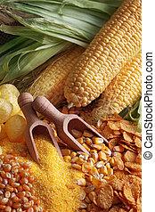 maíz, productos