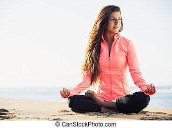mañana, meditación