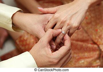 małżeństwo, propozycja