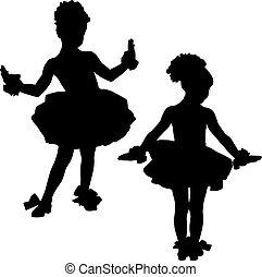 mały, baleriny