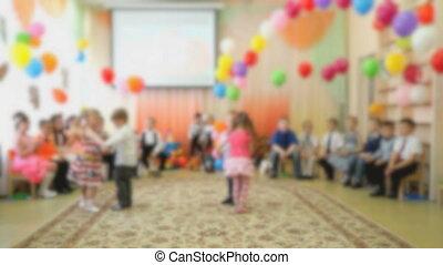 mały, pokój dziecinny, niemowlęta, taniec