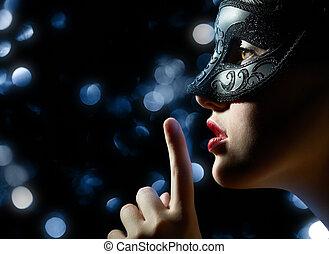 maškarní ples maskování