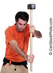 ma, sledgehammer.