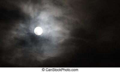 maan, op de avond
