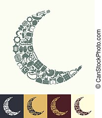 maan, pictogram