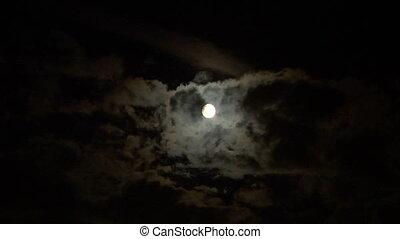 maan, wolk, 02