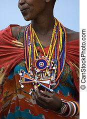 maasai, juwelen