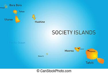 maatschappij, eiland