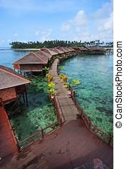 mabul 島, リゾート