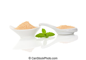 Maca root powder.