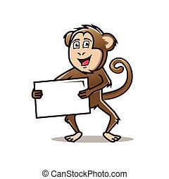 macaco, ilustração