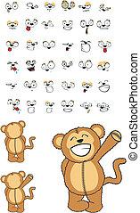 macaco, set03, caricatura