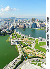 Macao city view
