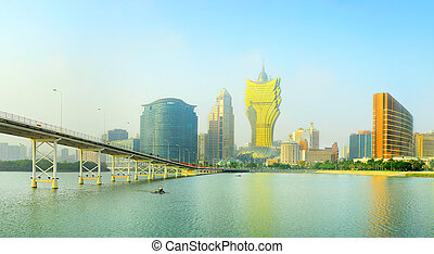 Macao downtown