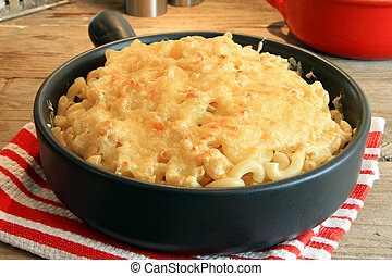 Macaroni and cheese - Home made macaroni and cheese.