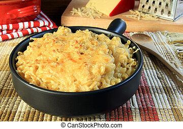 Macaroni and cheese - Home made macaroni and cheese.