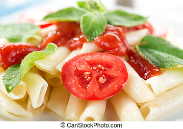 Macaroni close-up