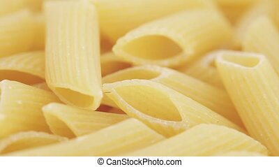 Macaroni from a meal of a rough grinding - Macaroni from...