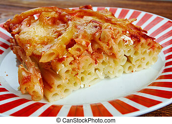 Macaroni with cheese