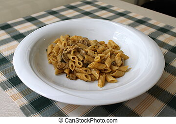 macaroni with clams