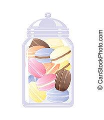 macaroon jar