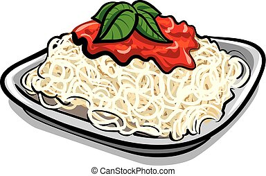 macarronada, espaguete