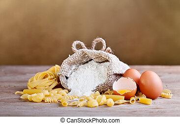 macarronada, ingredientes