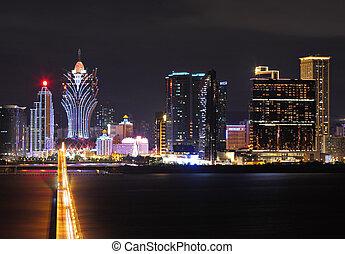 Macau at night