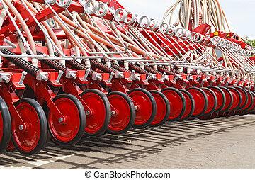 macchina, agricolo, primo piano