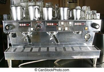 macchina espresso, dettaglio