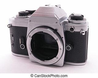 macchina fotografica, 2, film, slr